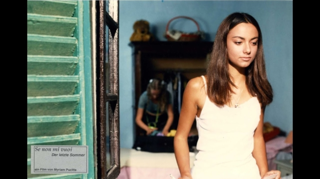 Se Non Mi Vuoi (Sommertage), mit Alessia Fugardi, Spielfilm I/D, 90 Min., ital. O m. dt. U