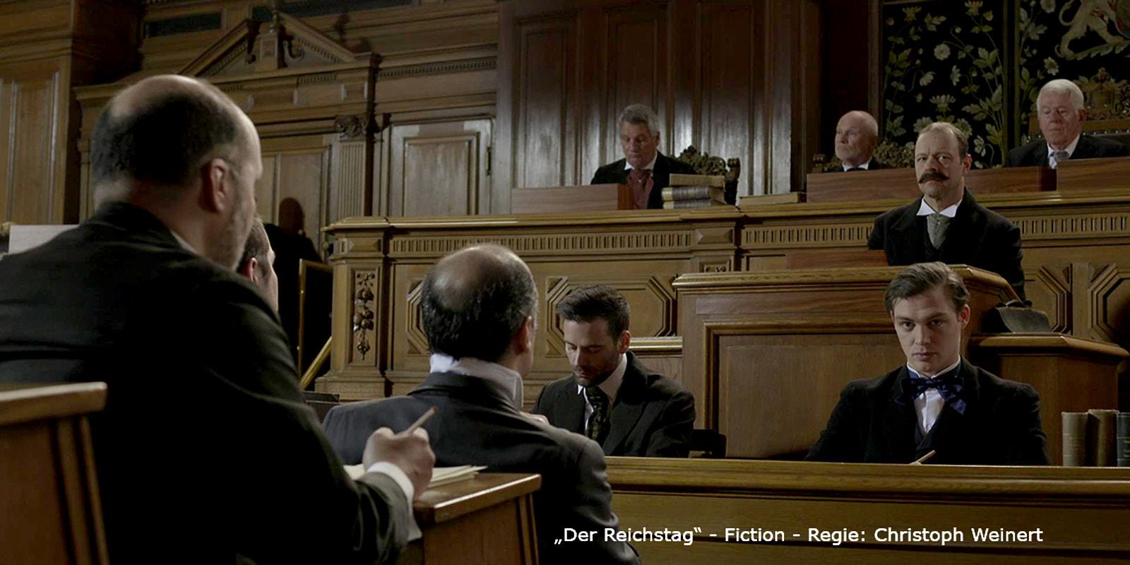 """""""Der Reichstag"""" Szenenbild - Dokudrama"""