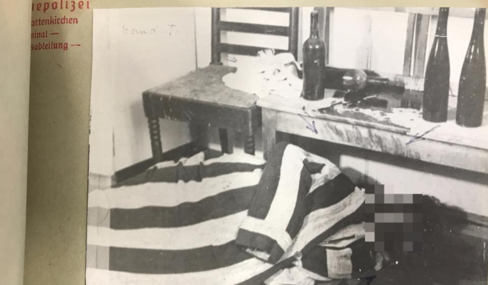 """""""Spektakuläre Kriminalfälle der Nachkriegszeit"""" - Mordfall Zenta Hausner 1947 in Garmisch"""